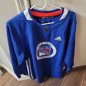 Men Adidas Hockey Jersey shirt sz 46